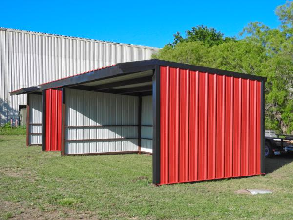 Loafing Shed - 12 x 24